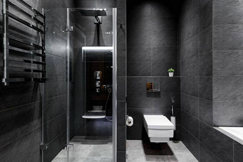 Salle de bain grise - Design d'intérieur 2021