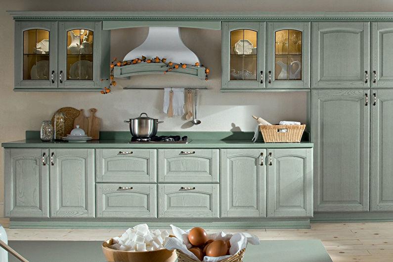 Conception de cuisine de style provençal