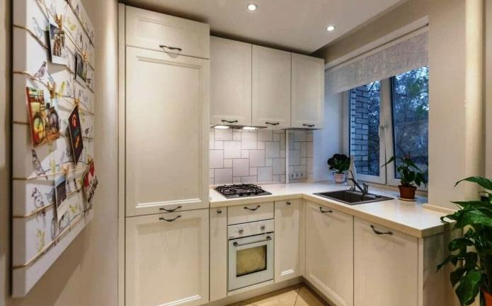 intérieur de cuisine beige