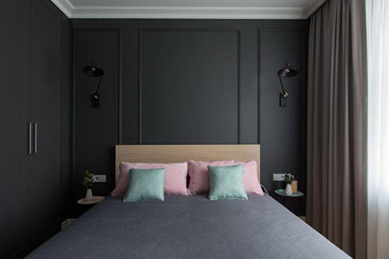 Chambre noire - Design d'intérieur 2021