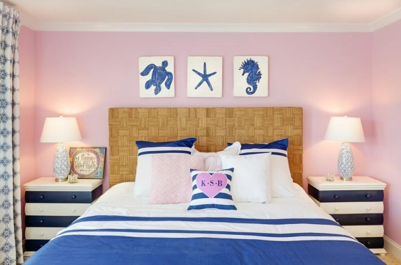 Chambre rose - Design d'intérieur 2021