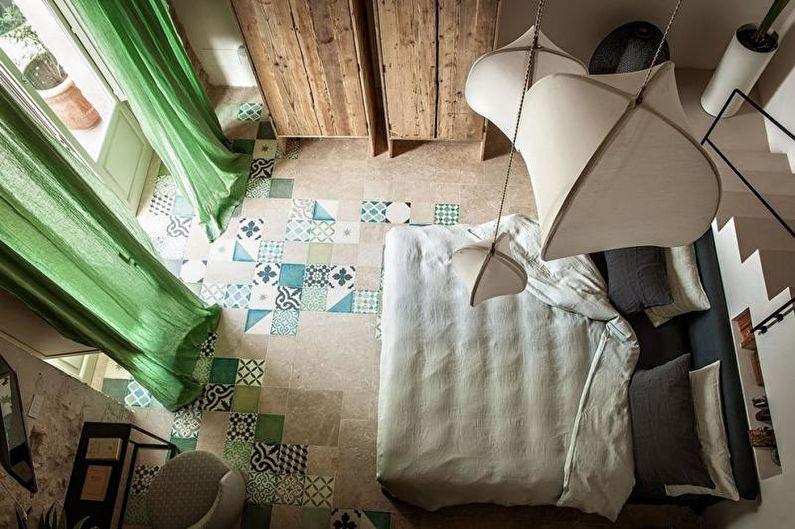 Design de chambre à coucher 2021 - Fini de plancher