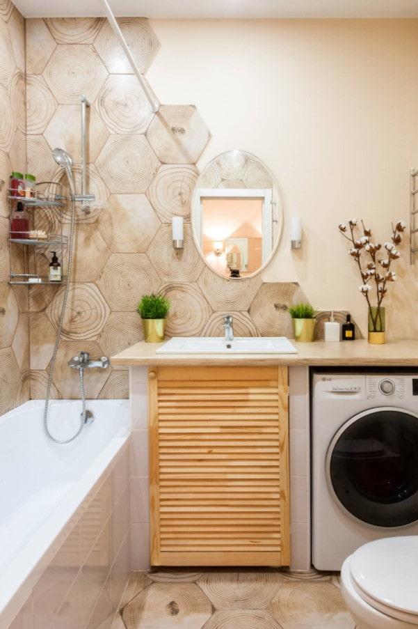 petite salle de bain confortable