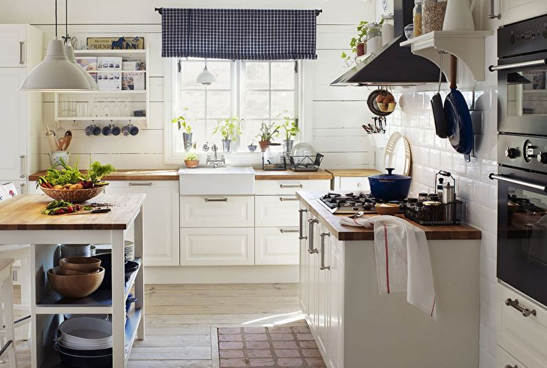 Cuisine Ikea de style provençal - Design d'intérieur