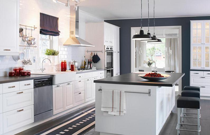 Ikea White Kitchens - Design d'intérieur