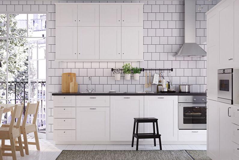 Cuisine scandinave Ikea - Design d'intérieur