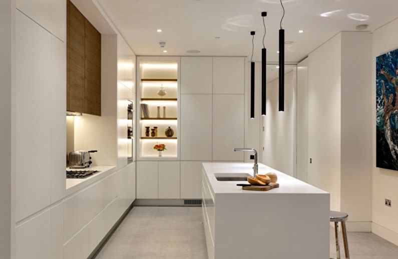 Cuisine Ikea dans le style du minimalisme - Design d'intérieur
