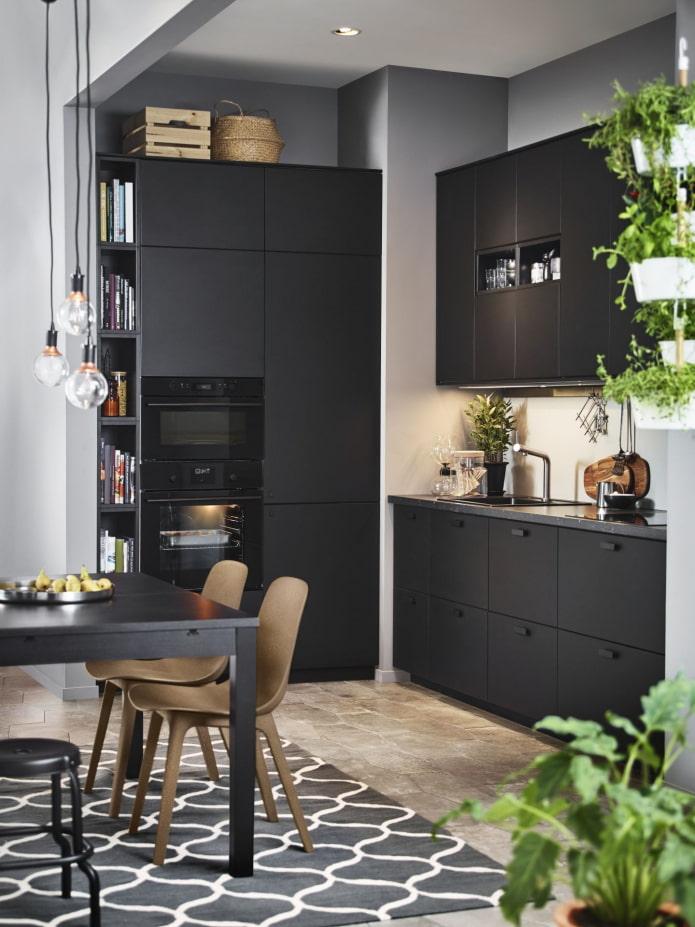 cuisine sombre ikea