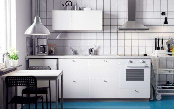 cuisine blanche bon marché