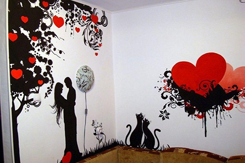 Types de pochoirs pour murs à peindre - Selon la méthode d'application