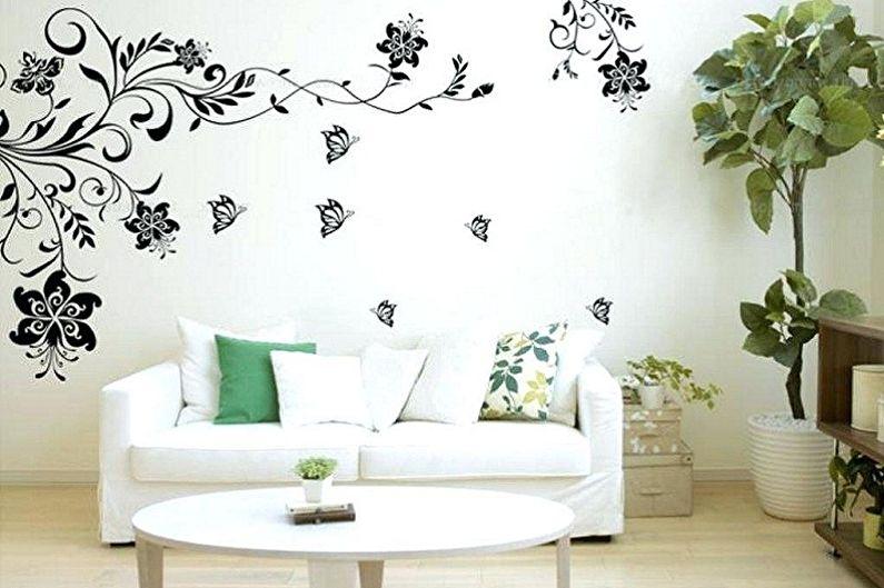 Pochoirs pour murs à peindre - Avantages et caractéristiques
