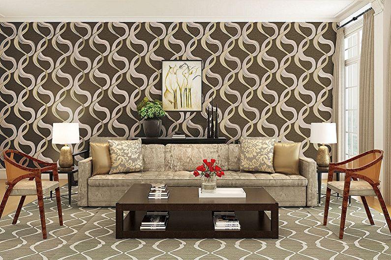 Types de papier peint pour murs - Papier peint intissé