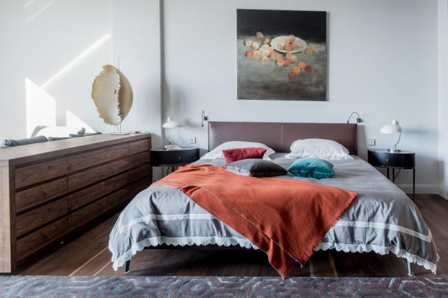 Chambre conçue dans le style Monet