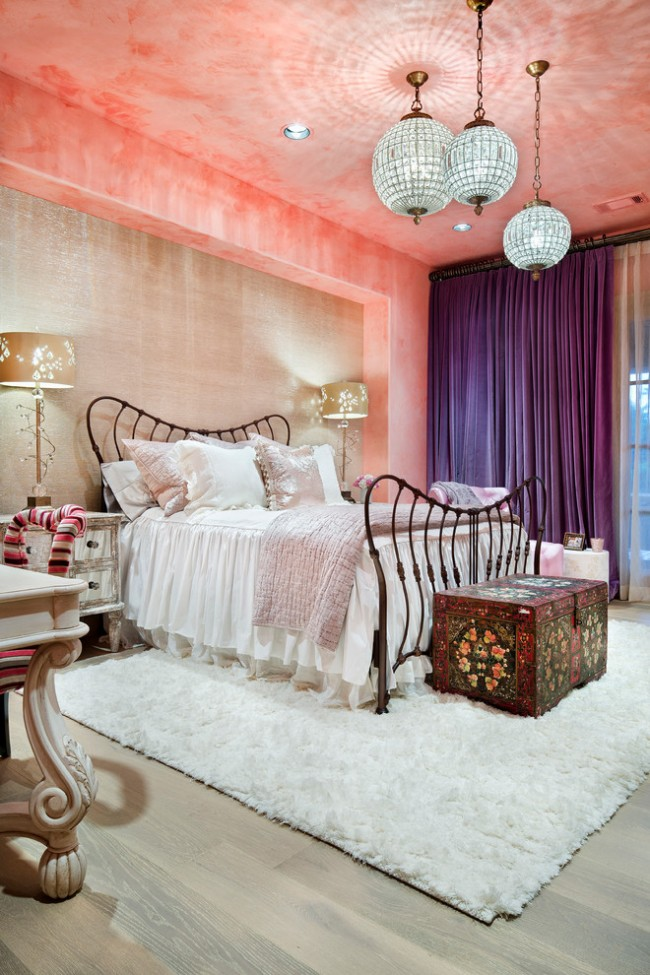 Belle chambre avant-gardiste