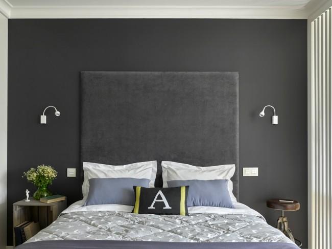 Les couleurs de lit sont apaisantes.  Le classique de ce style.