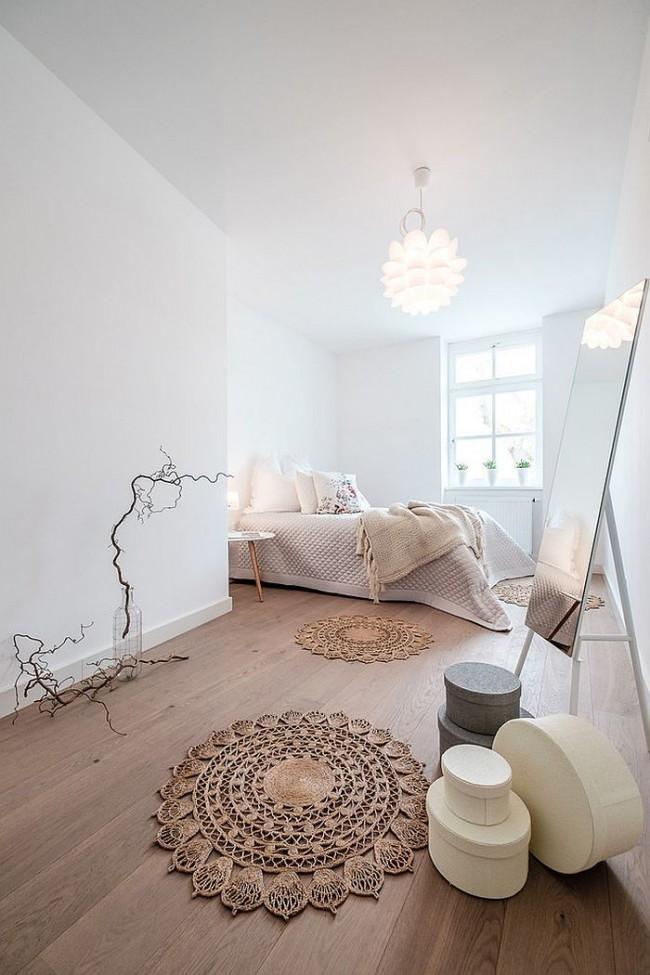 Le minimalisme peut être montré dans différents styles d'intérieur