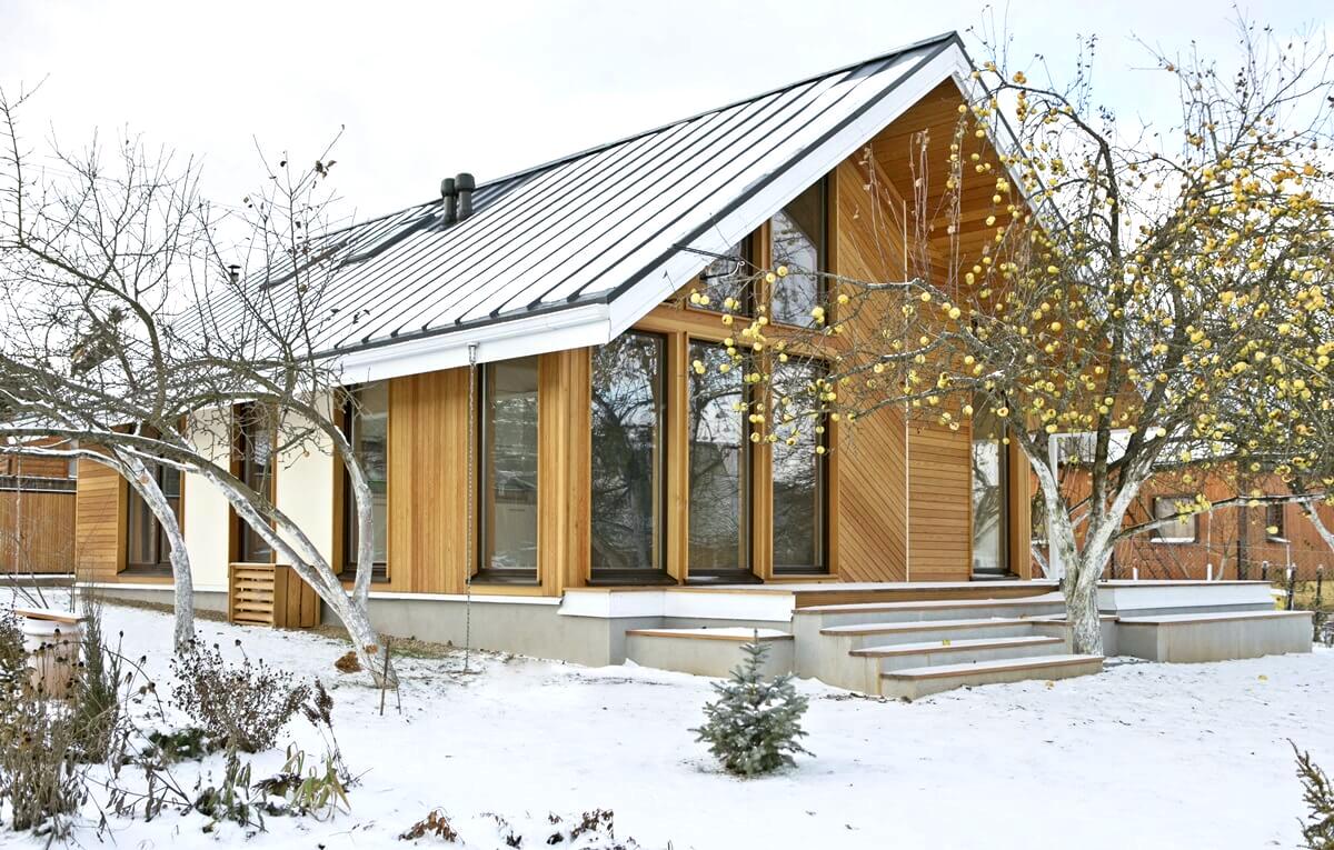Décoration de maison en bois de style scandinave