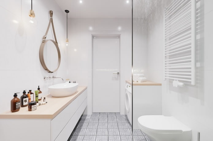 design de salle de bain scandinave