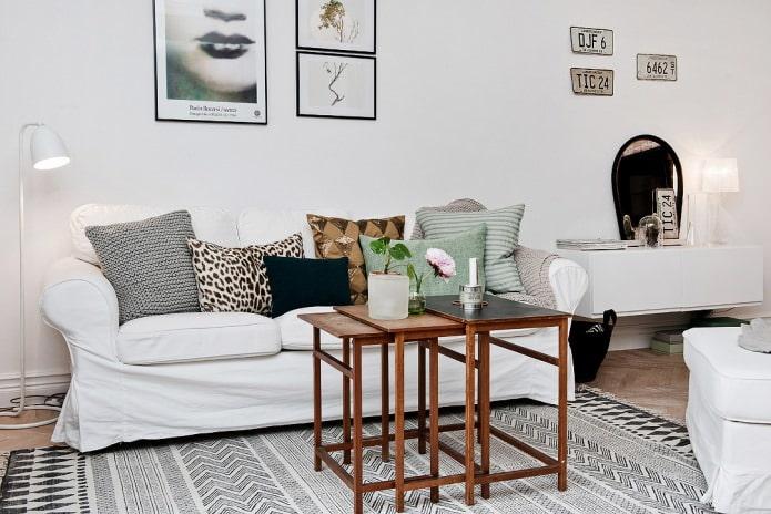salon de style scandinave
