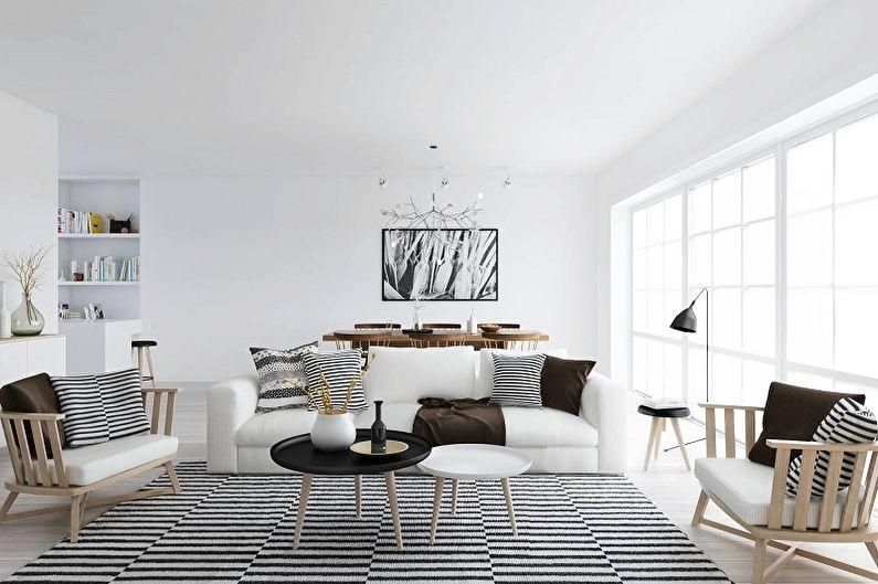 Style scandinave à l'intérieur - Meubles