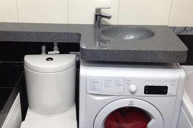 Évier au-dessus du lave-linge - Matériaux