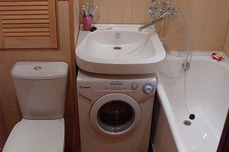 Évier au-dessus du lave-linge - Avantages et caractéristiques