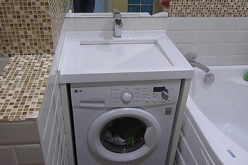 Évier au-dessus de la machine à laver - Comment choisir une machine à laver