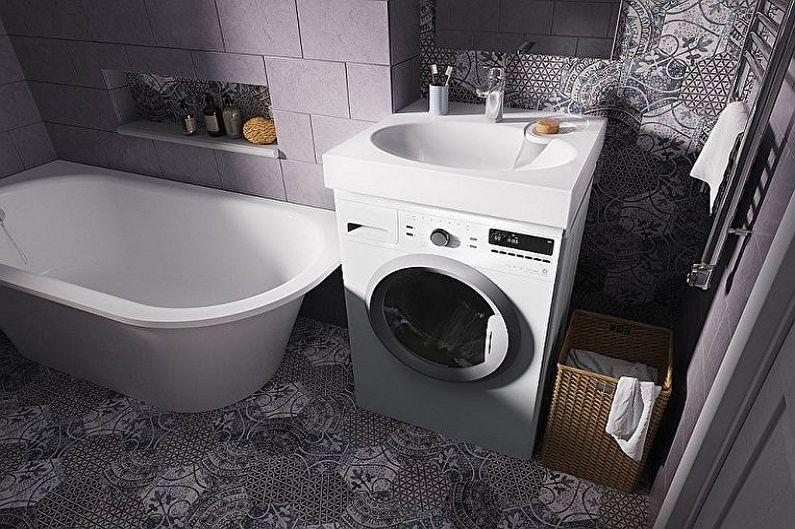 Évier au-dessus du lave-linge - Taille