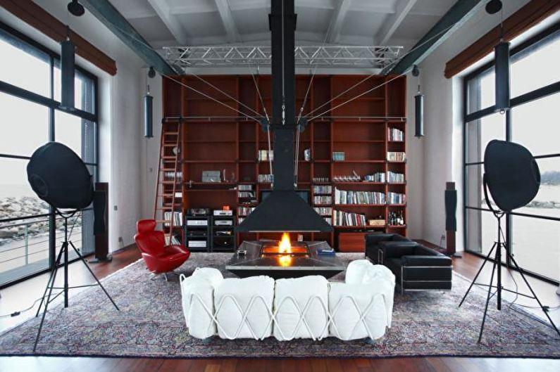 Design d'intérieur de style loft - Caractéristiques