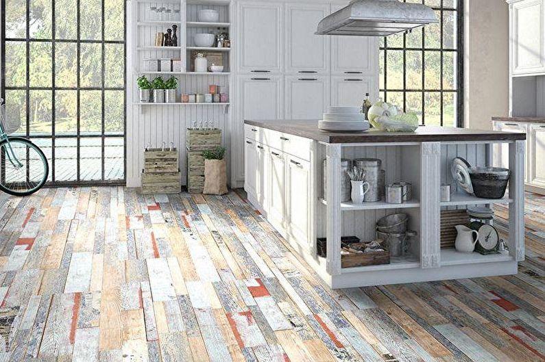 Design d'intérieur de loft - Finition de plancher