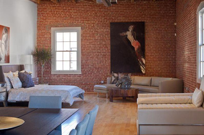 Design d'intérieur de style loft - Décoration murale