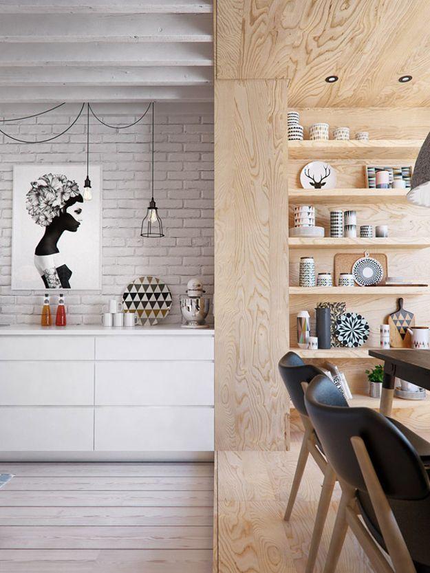 Une combinaison réussie de styles éco et loft