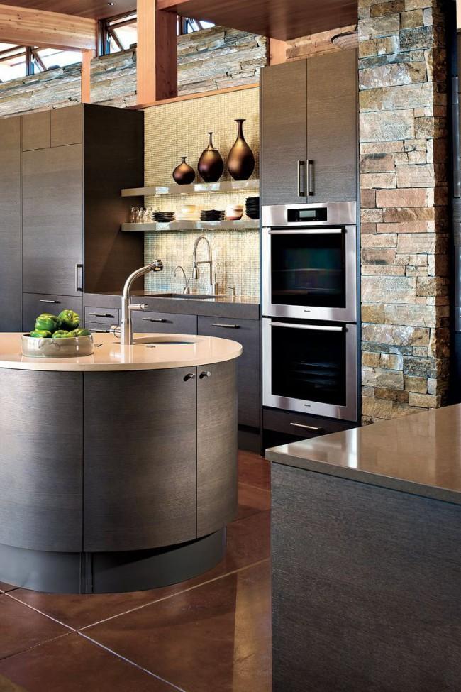 La cuisine design mettra en valeur votre niveau de richesse