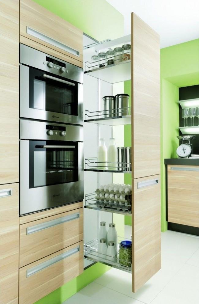 Les meubles de cuisine modernes doivent être fonctionnels et compacts