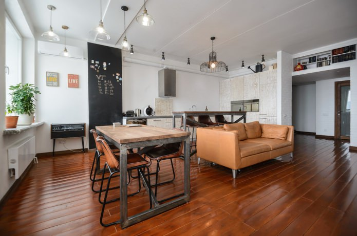 salon de style loft