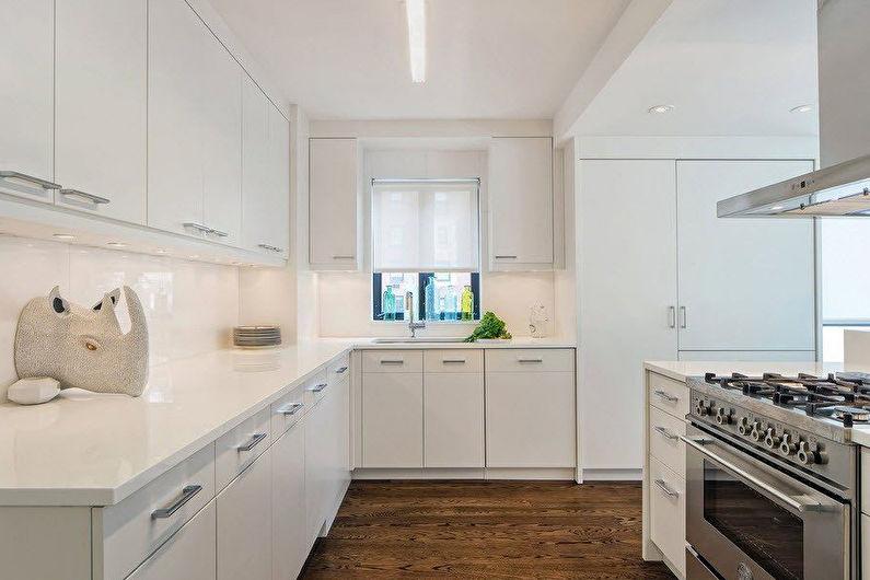 Conception de cuisine d'angle - Boîte de ventilation d'angle