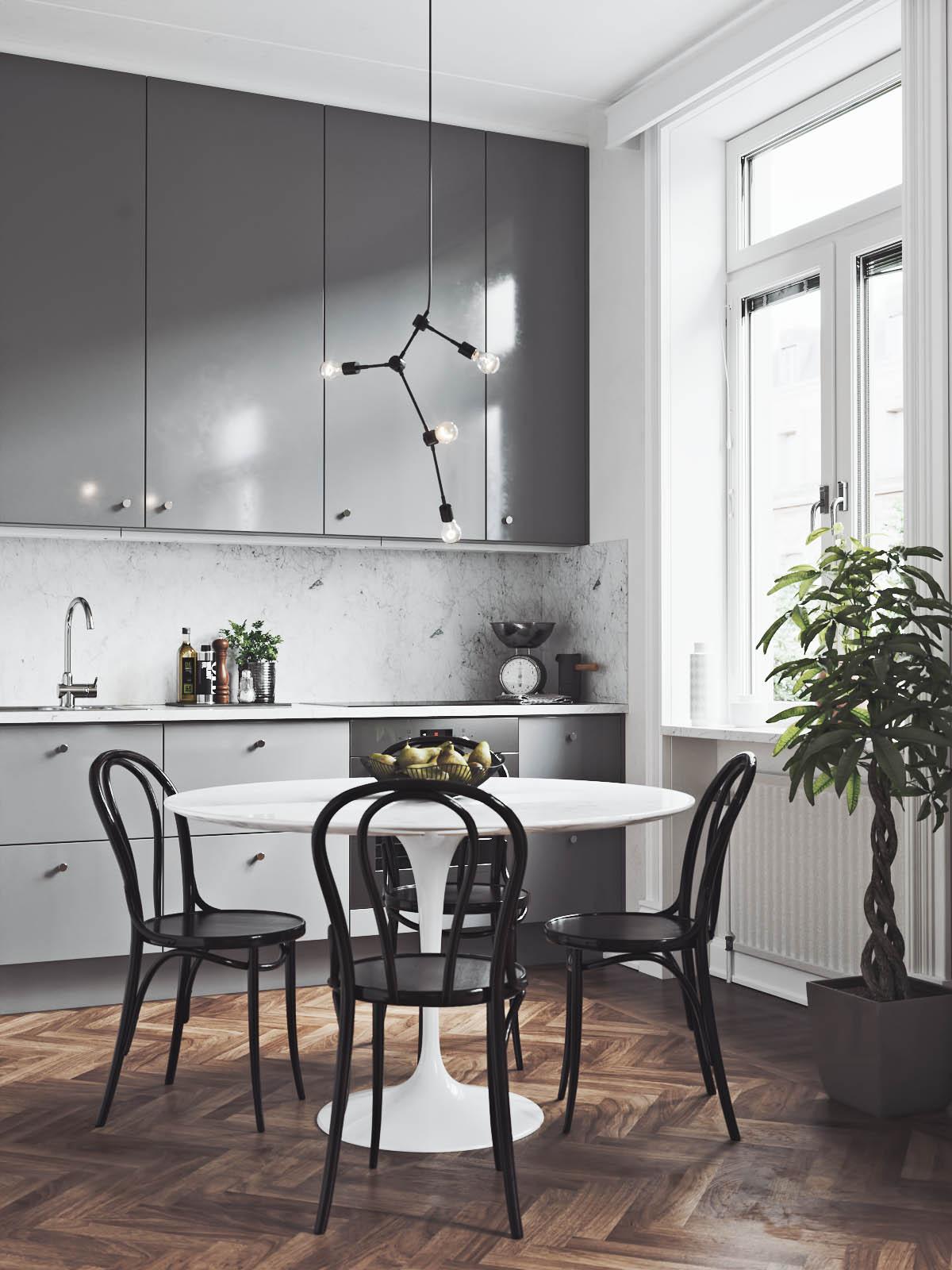 chaises en bois pour la cuisine
