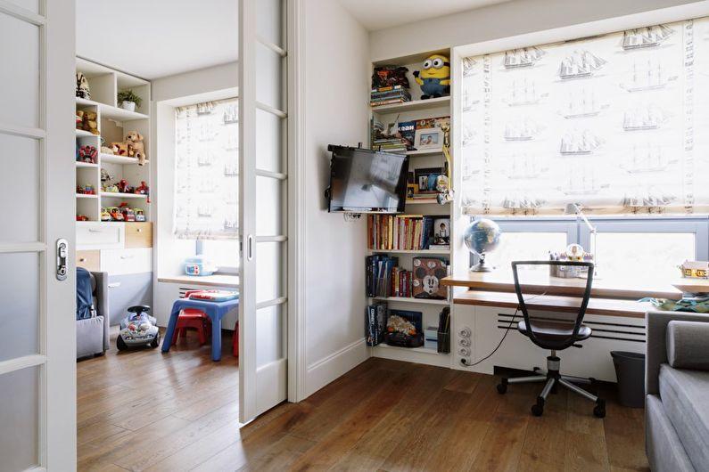 Chambre d'enfants dans un style moderne - Design d'intérieur