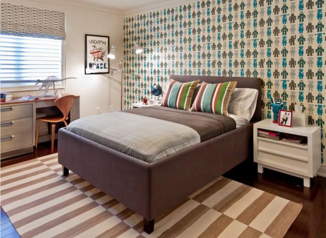 Combiner parquet et tapis dans la chambre