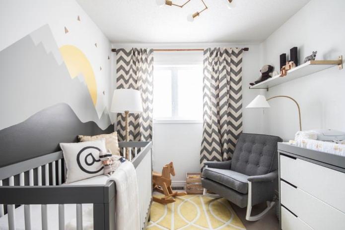 petite chambre pour un nouveau-né