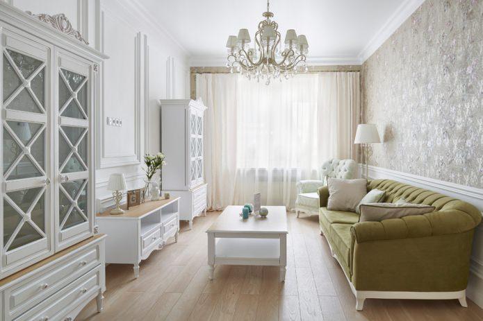 salle de style classique