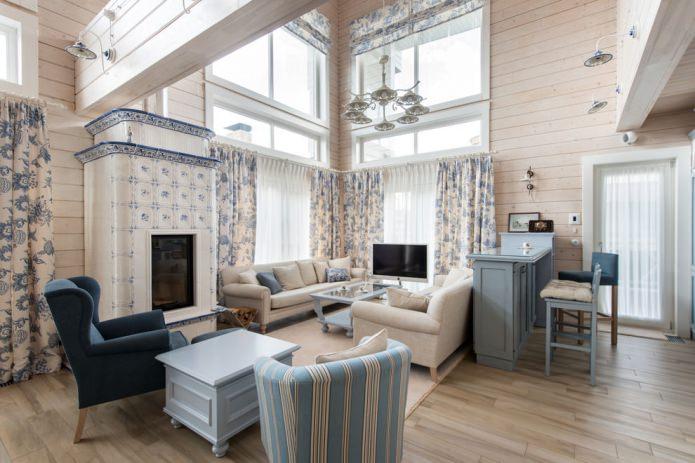 conception légère d'une maison en bois