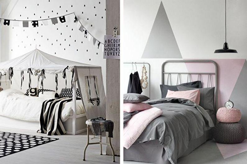 Conception de la chambre des adolescents - Influence des couleurs
