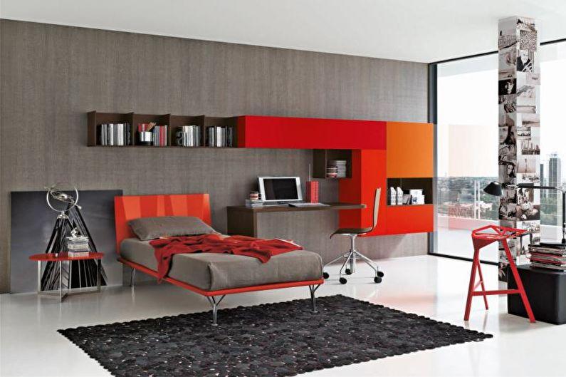 Conception de la chambre des adolescents - Ergonomie des meubles