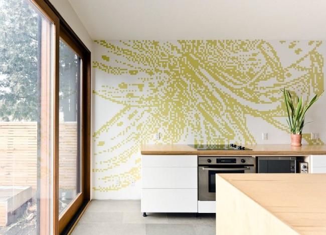 Approche moderne de la conception de la cuisine dans le style du minimalisme