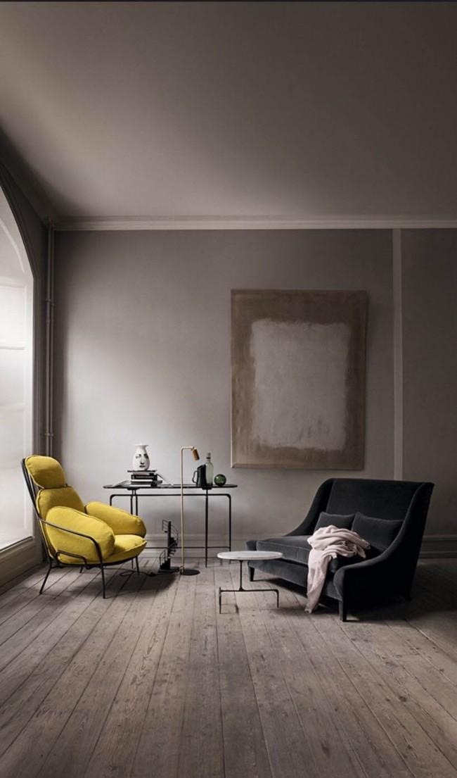 Au bureau, cette combinaison de couleurs créera une atmosphère apaisante et vous permettra de vous concentrer.