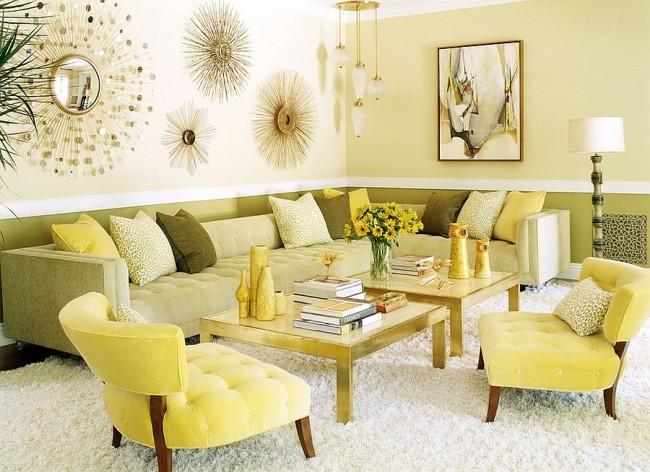 Un salon très chaleureux - un lieu cosy pour d'agréables réunions