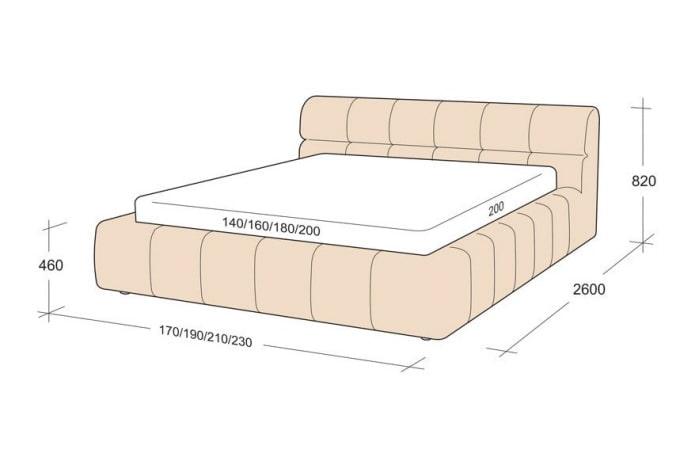 taille d'un lit double