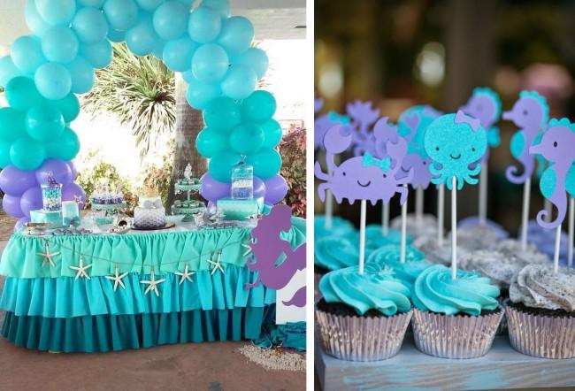 Réglage de la table à la maison.  Les anniversaires à thème sont un excellent moyen de divertir les enfants.  Le décor de la table correspond au thème choisi de la fête