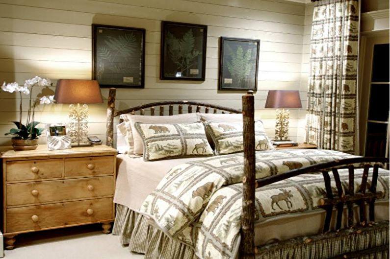 Couvre-lit sur le lit - caractéristiques de conception
